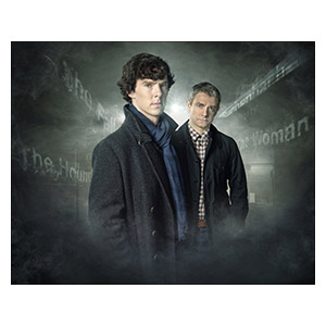 Sherlock BBC. Размер: 50 х 40 см